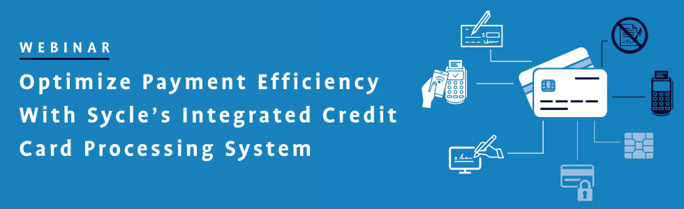 Register for our upcoming webinar: Optimize Efficiency With Sycle's Integrated Credit Card Processing System